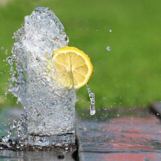 lemon, water, benefits of water,